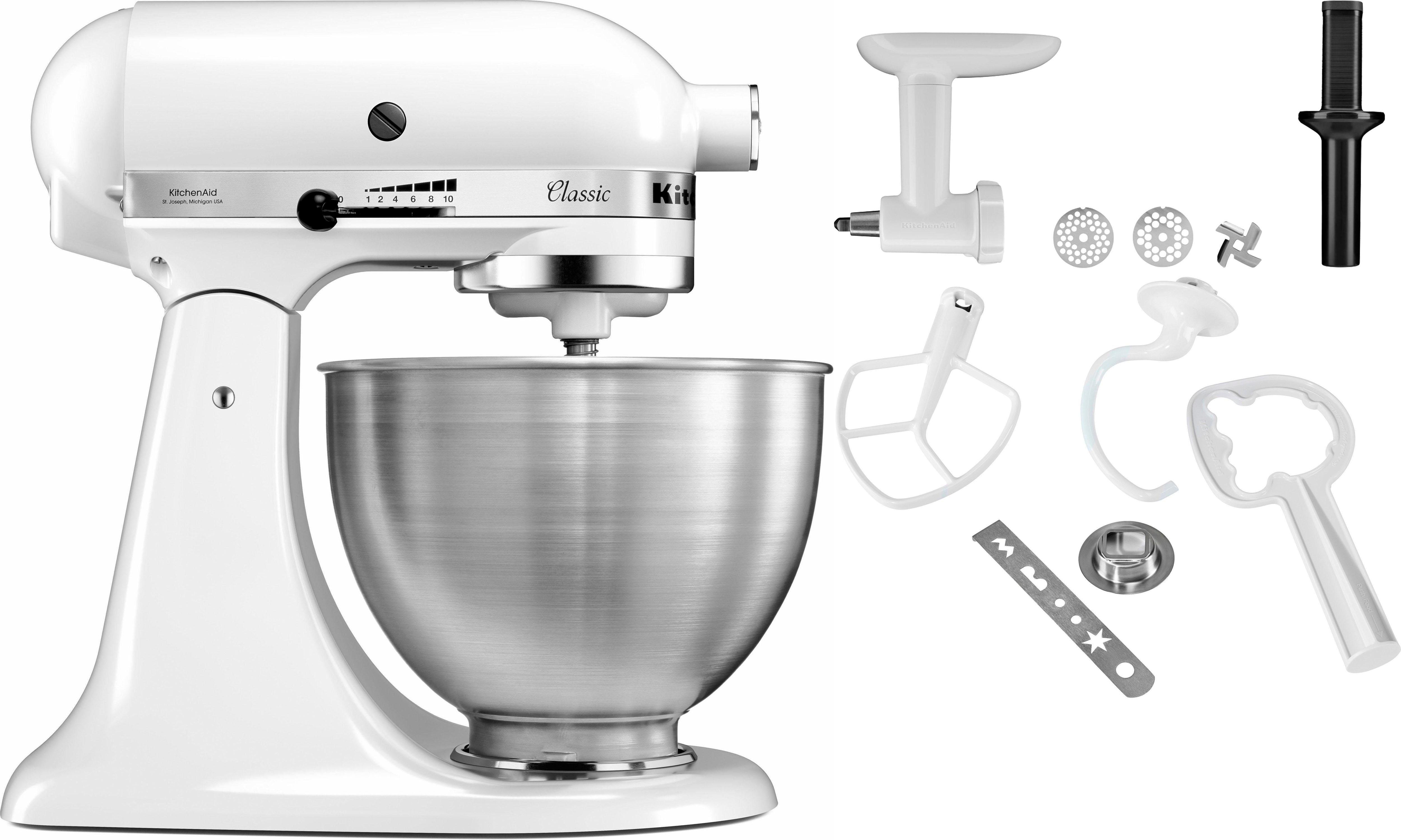 KitchenAid keukenmachine Classic 5K45SS EWH goedkoop op otto.nl kopen
