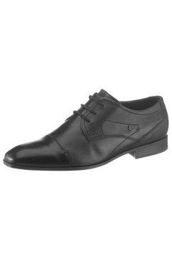 bugatti veterschoenen »mattia« zwart