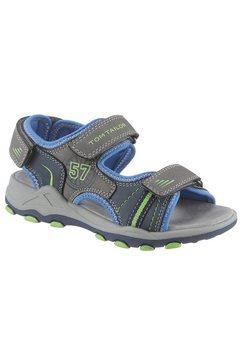 tom tailor sandalen met print opzij grijs