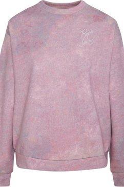 pepe jeans sweatshirt »luna« roze
