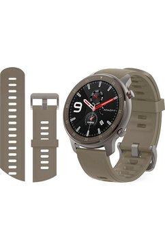 amazfit smartwatch grijs