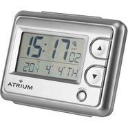 atrium radiografische wekker »a720-19« zilver