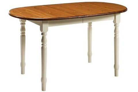 Massief houten meubel eettafel