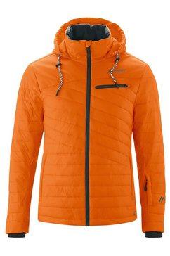 maier sports ski-jack »prime dammkar m« oranje