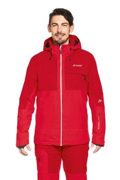 maier sports ski-jack »dammkar pure m« rood