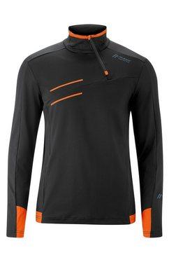 maier sports shirt met lange mouwen »neo sweater m« multicolor
