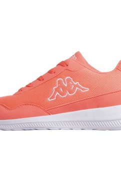 kappa sneakers »follow nc« oranje