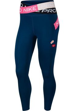 nike functionele tights »nike one luxe women's 7-8 tights« blauw