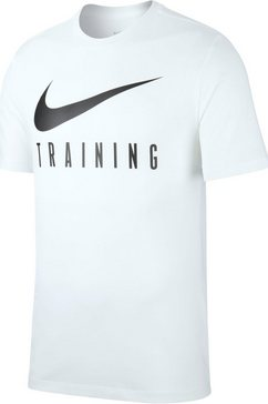 nike t-shirt »nike dri-fit men's training t-shirt« wit