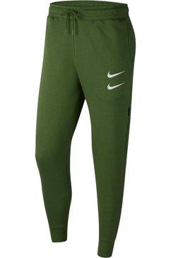 nike sportswear joggingbroek »nike sportswear swoosh men's pants« groen