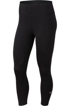 nike functionele tights »nike one women's crops« zwart