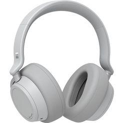microsoft on-ear-hoofdtelefoon surface headphones grijs