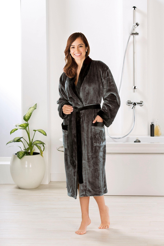 Gözze uniseks badjas »Seidenfeeling« voordelig en veilig online kopen