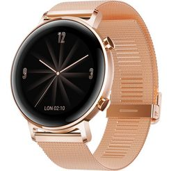 huawei »watch gt 2 elegant« smartwatch goud