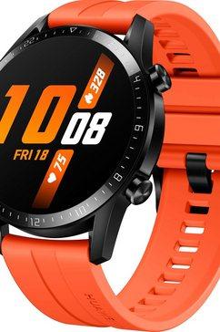 huawei smartwatch watch gt 2 sport 24 maanden fabrieksgarantie oranje