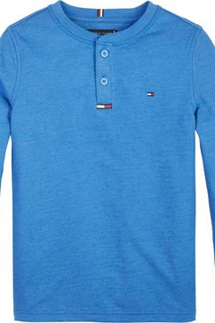 tommy hilfiger shirt met lange mouwen blauw