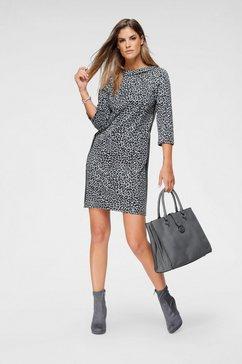 betty barclay gedessineerde jurk grijs