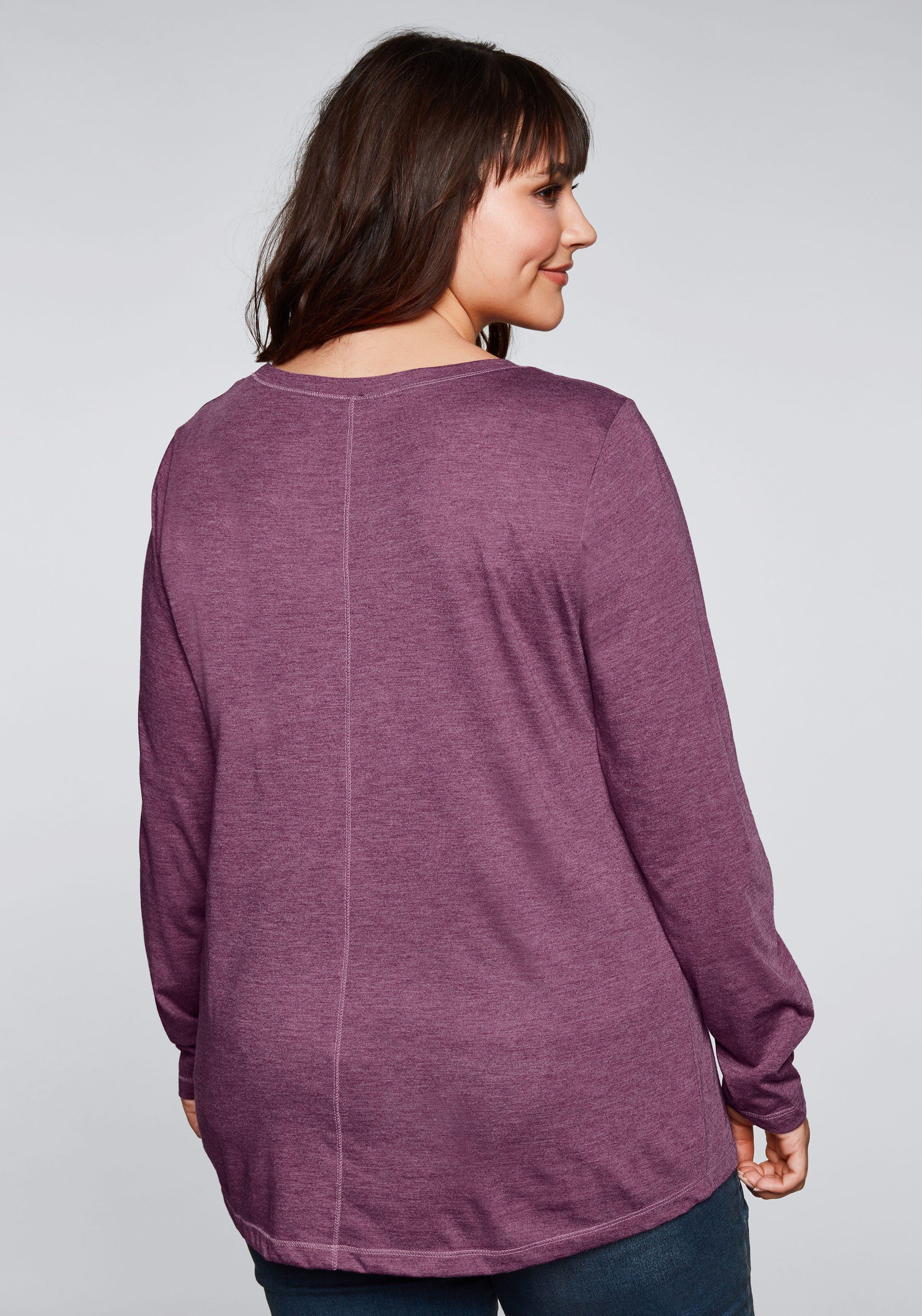 Sheego Casual Shirt Met Lange Mouwen Online Verkrijgbaar - Geweldige Prijs