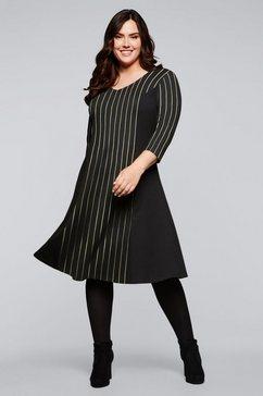 sheego party-jurk zwart