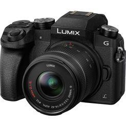 panasonic »dmc-g70kaeg-k mit 14-42mm« systeemcamera zwart