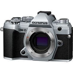 olympus »om-d e-m5 mark iii body« systeemcamera zwart