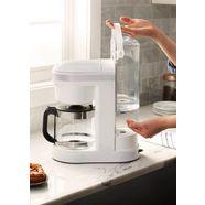 kitchenaid »kitchenaid 5kcm1208ewh« filterkoffieapparaat wit