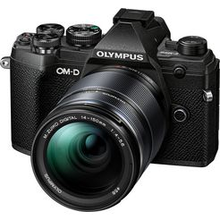 olympus »om-d e-m5 mark iii« systeemcamera zwart