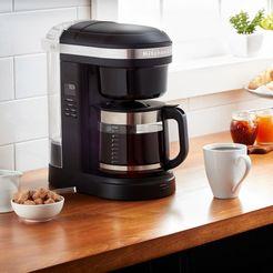 kitchenaid »kitchenaid 5kcm1208eob« filterkoffieapparaat zwart
