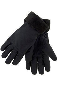j.jayz fleece-handschoenen zwart