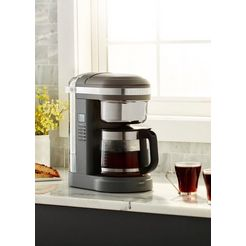 kitchenaid »kitchenaid 5kcm1209edg« filterkoffieapparaat grijs