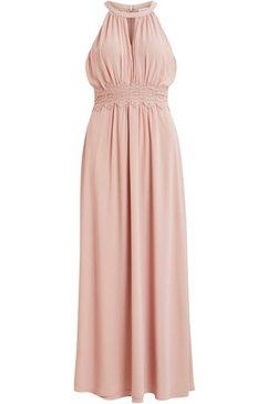 vila jurk in haltermodel »milina« roze