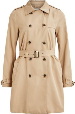 vila trenchcoat »vimovement« beige