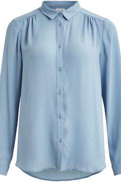 vila overhemdblouse »vilucy« blauw