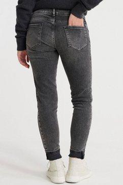 superdry skinny jeans »cassie skinny« zwart