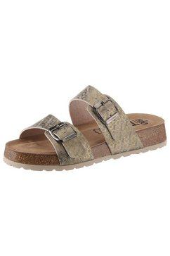 bio time slippers groen