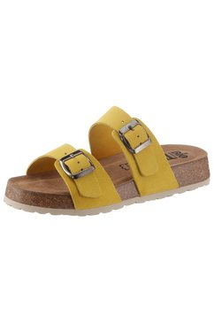 bio time slippers geel