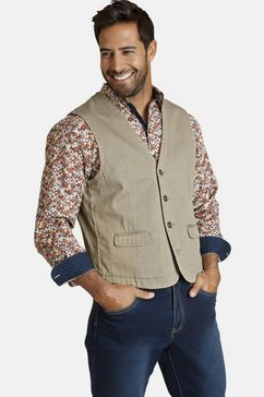 jan vanderstorm jeans vest »torell« beige