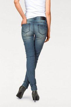 arizona skinny-jeans met shape-effect blauw