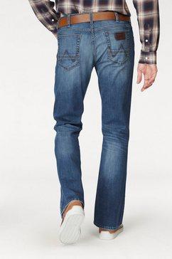 wrangler bootcut jeans jacksville blauw