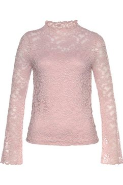 laura scott kanten shirt roze