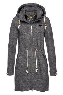 schmuddelwedda tricot-fleecejack grijs