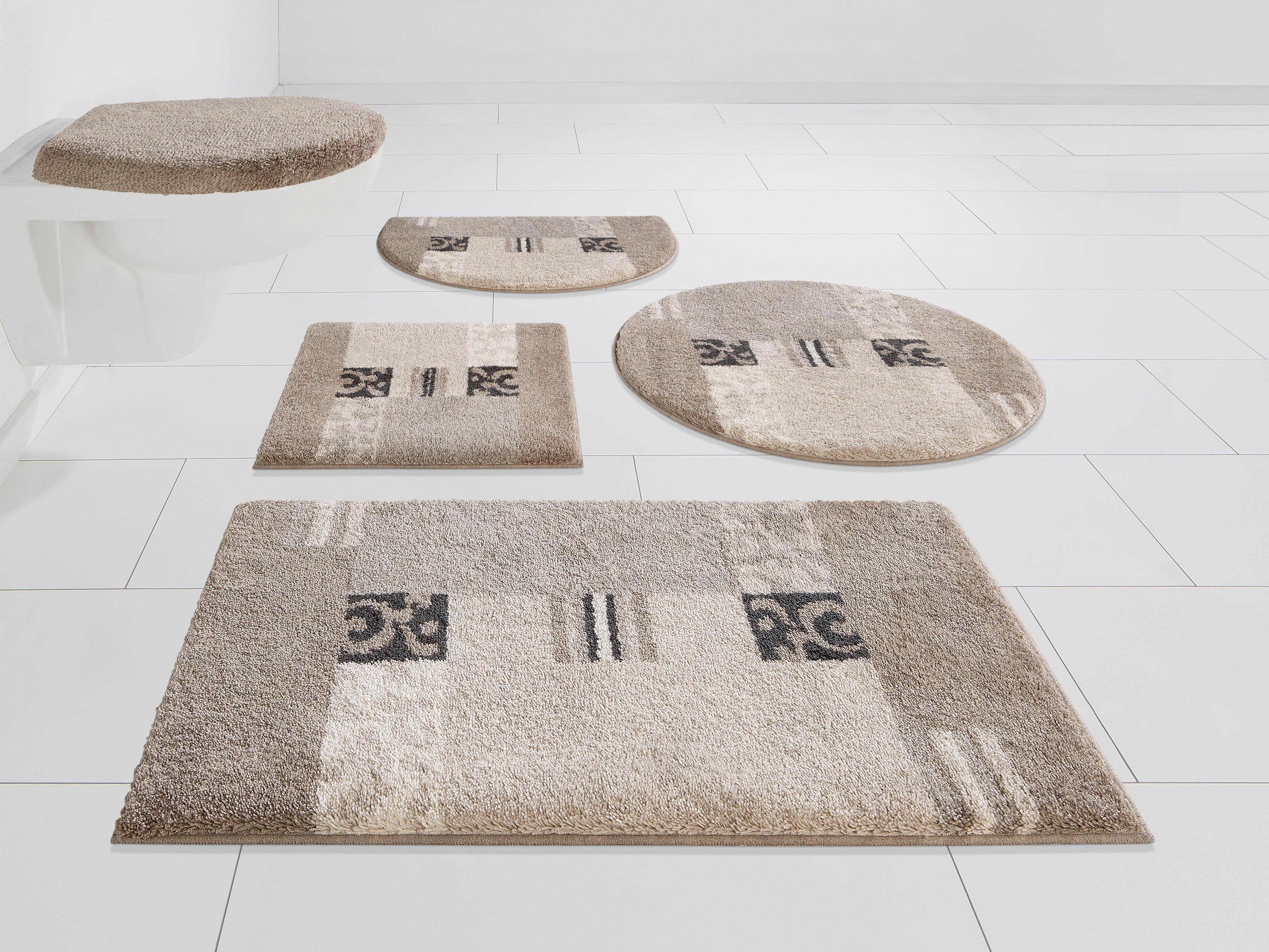 Grund Exklusiv Badmat »Prado«, hoogte 20 mm, met antislip-coating, geschikt voor vloerverwarming in de webshop van OTTO kopen