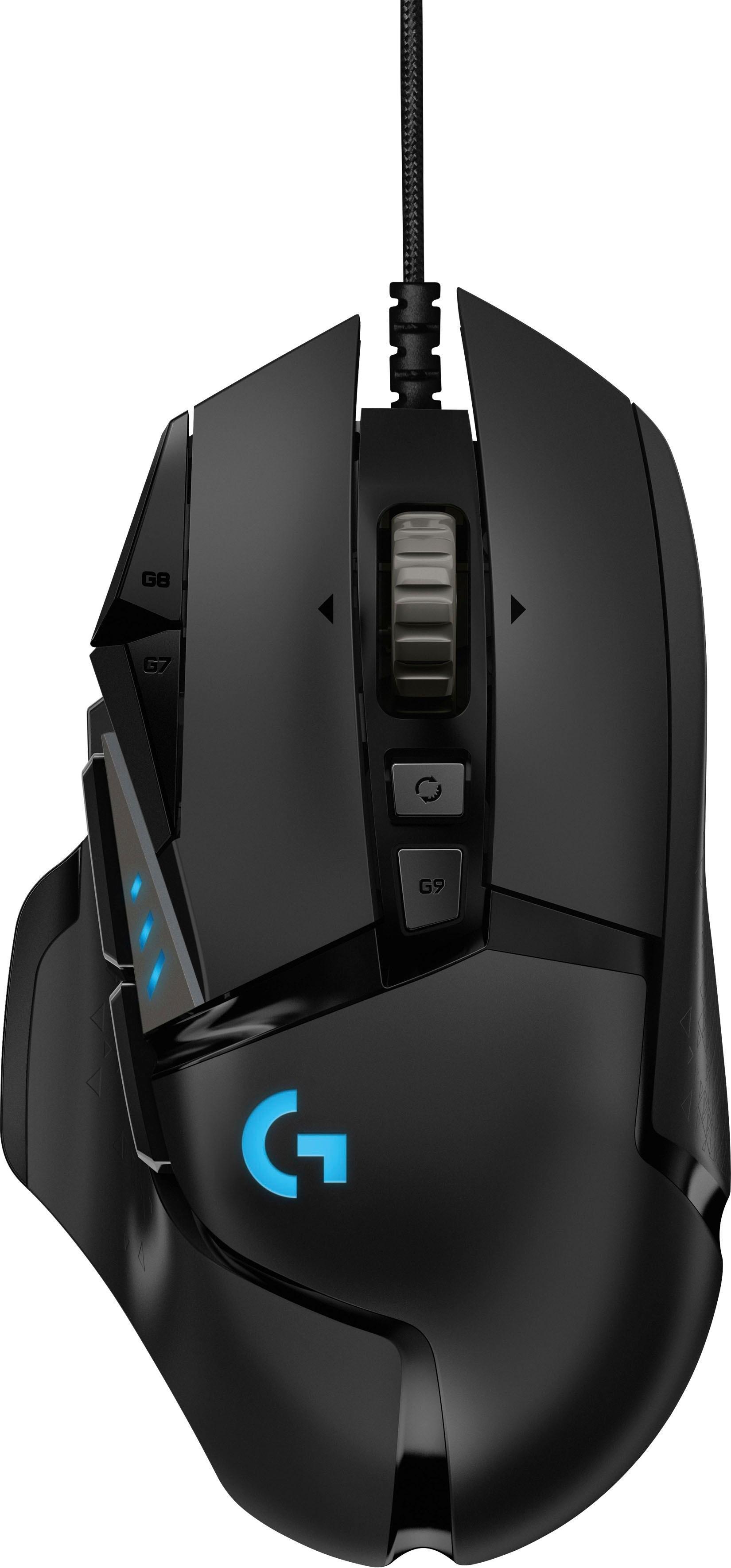 Logitech Games Logitech »G502 HERO High Performance« gaming-muis (bedraad, 16.000 dpi) nu online kopen bij OTTO