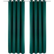 gordijn, »sola«, my home, ringen per stuk groen
