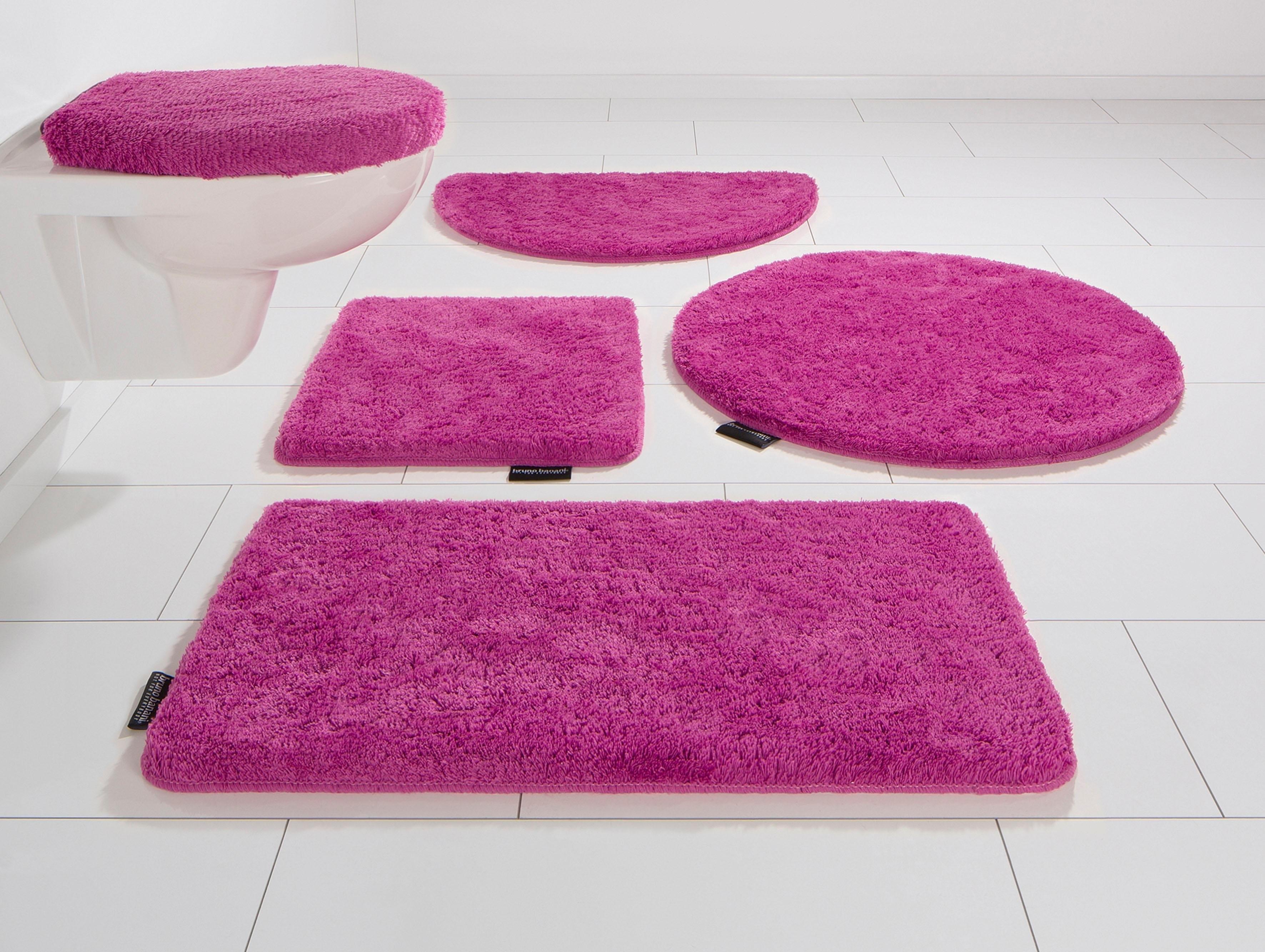 Bruno Banani Badmat »Lana«, hoogte 25 mm, met antislip-coating, geschikt voor vloerverwarming in de webshop van OTTO kopen