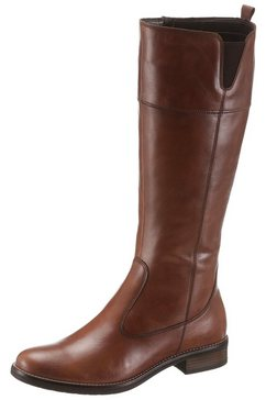 tamaris laarzen »cary« bruin