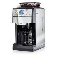 aeg koffiezetapparaat met maalwerk kam400 zwart