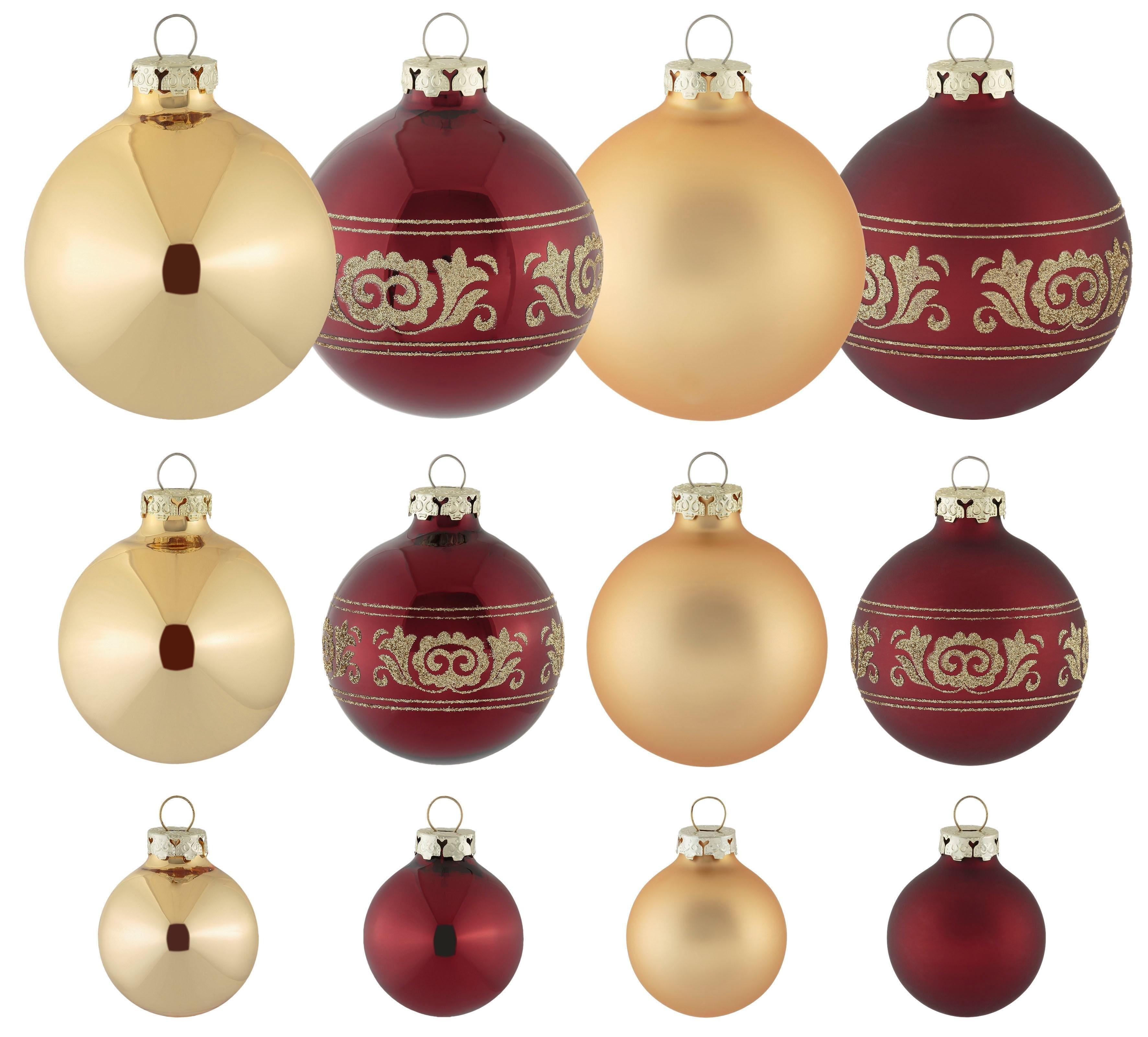 Thüringer Glasdesign kerstbal - verschillende betaalmethodes