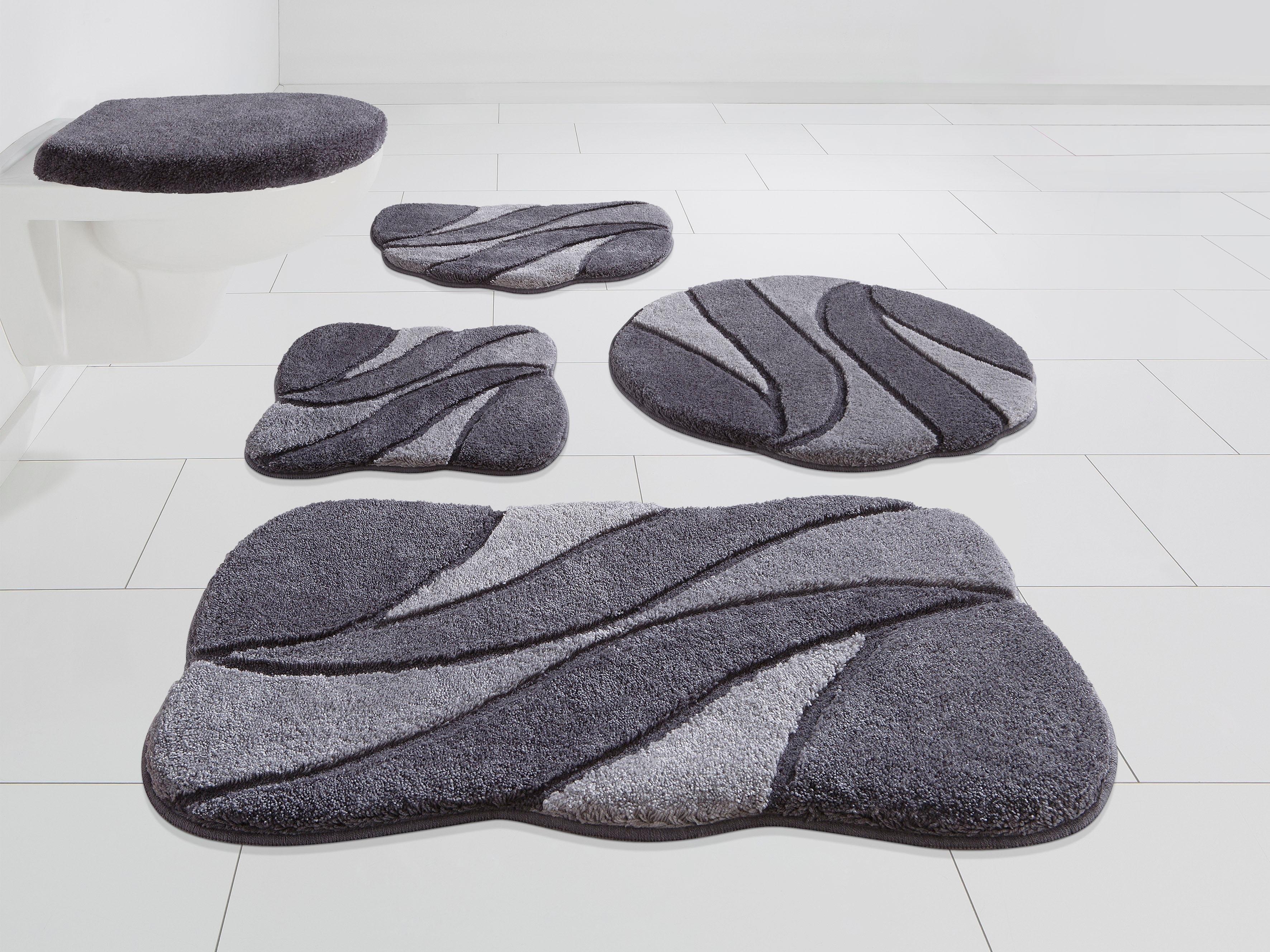 GRUND exklusiv Badmat »Colette«, hoogte 24 mm, met antislip-coating bij OTTO online kopen