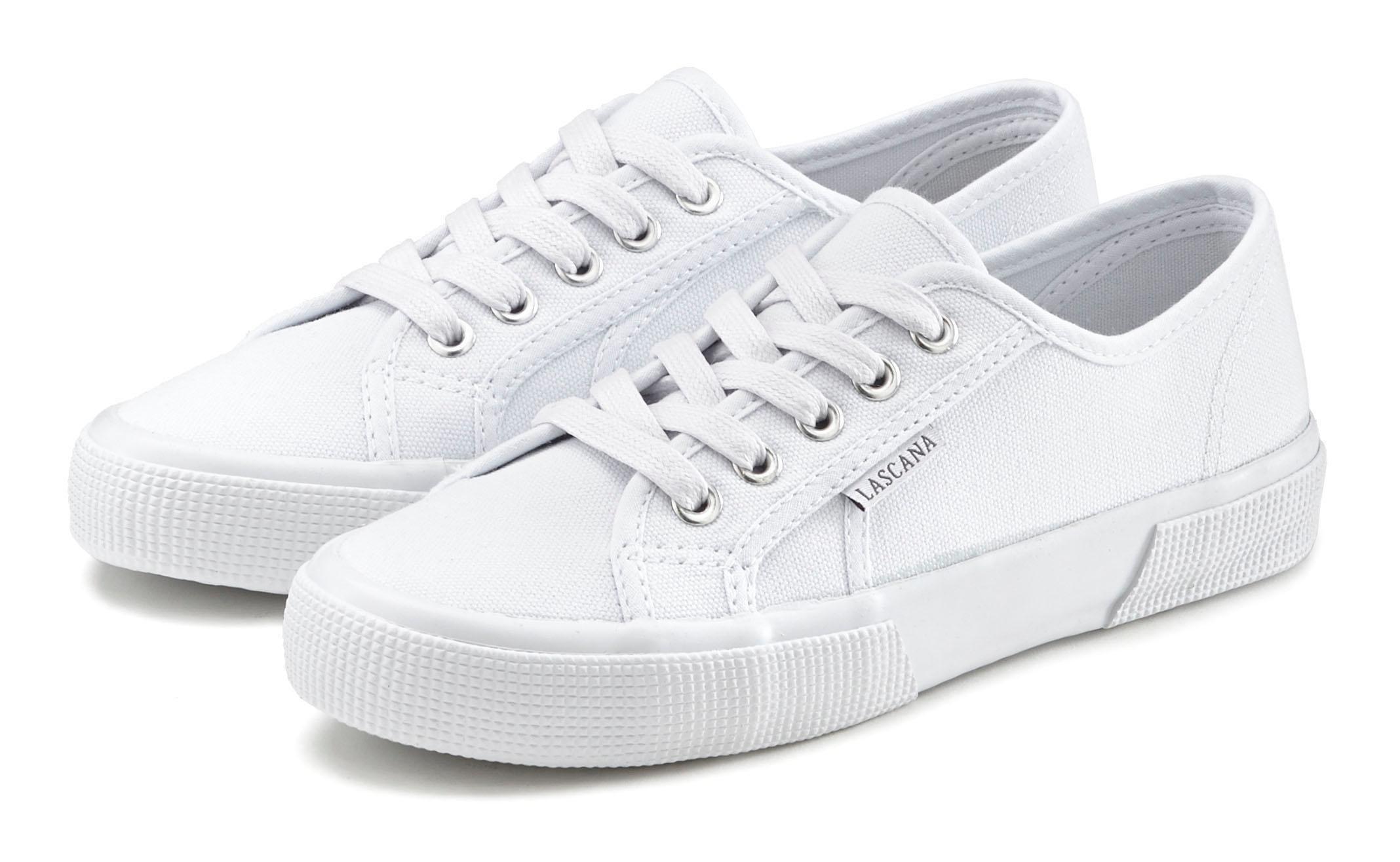 LASCANA sneakers van textiel bij OTTO online kopen